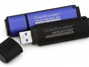 Kingston, yüksek korumalı iki yeni USB sürücü duyurdu