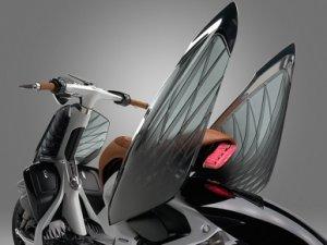 Yamaha'dan kanatlı Scooter