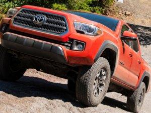 Toyota'nın arazi tercihi, Goodyear Wrangler oldu!