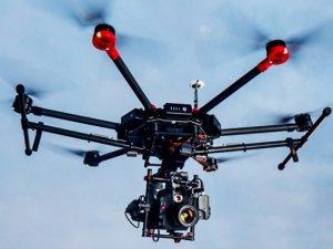 DJI Matrice 600 havada 36 dakika kalabiliyor