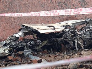 Libya'da ambulans uçak düştü