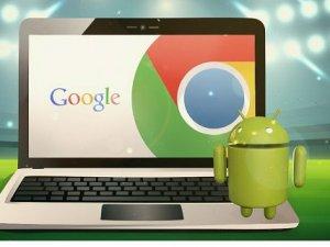 Android uygulamaları Chrome OS'a geliyor