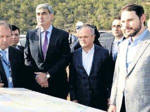 Enerji Bakanı Berat Albayrak Akkuyu Nükleer Santrali'ni inceledi