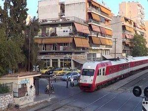 Yunanistan Demiryolları grevde