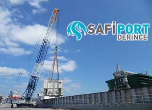 Safiport Derince, 2 adet Mobil Harbore Crane'u hizmete alıyor