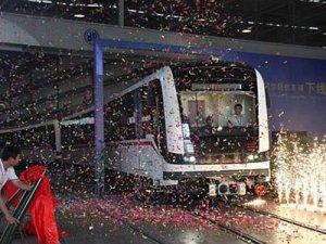 İzmir'in yeni metro vagonları Eylül'de geliyor