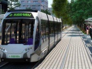 İzmit'te Tramvay hattının uzunluğu 1.350 metreye ulaştı