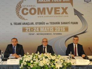 Karayolu ticareti COMVEX'te buluşuyor
