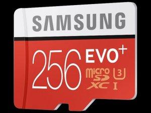 Samsung, EVO Plus 256 GB MicroSD kartını duyurdu
