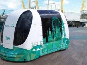 Londra'da sürücüsüz otobüs testleri başlıyor