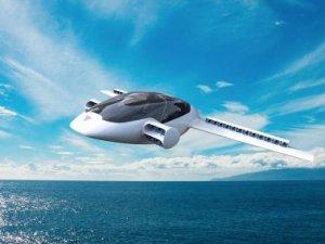 İşte dikey kalkış yapıp araba gibi sürülebilen elektrikli Jet!