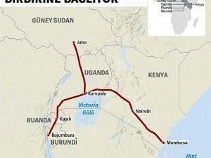 Çin'den Afrika'ya 13.8 milyar dolarlık tren hattı