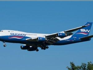 Azerbaycan'a ait kargo uçağı düştü