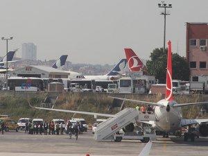 THY uçağında güvenlik araması