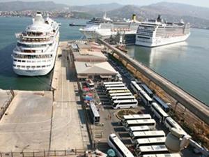 İzmir'e yılın ilk kruvaziyeri Temmuz ayında gelecek