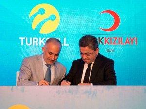 Turkcell'den Türk Kızılayı'na dev yardım