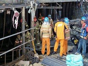 Güney Kore'de metro inşaatında patlama:4 ölü