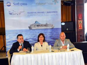 Celestyal Cruises ile SunExpress arasında iş birliği
