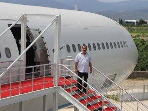 Restoran uçak hizmete açılıyor