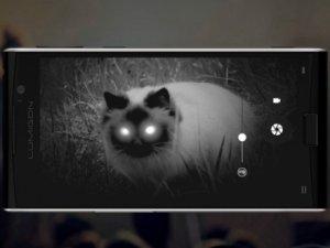 Gece görüş kamerasına sahip ilk telefon!