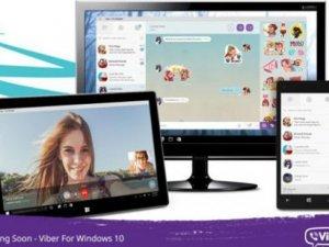 Viber Windows 10 ile bilgisayarlara geldi