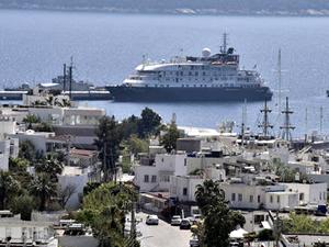 Bodrum ve Marmaris limanlarına 5 ayda 27 kruvaziyer geldi
