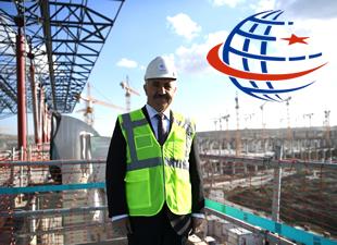 Bakan Arslan, Üçüncü Havalimanı inşaatında incelemelerde bulundu