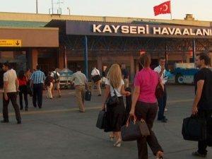 Kayseri Havalimanı'nda bomba alarmı
