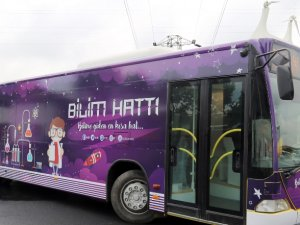 İETT'den bilim otobüsü