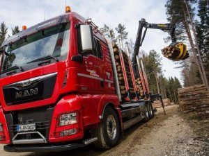 MAN, orman için kamyon çözümlerini sergileyecek
