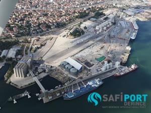 Depreme dayanıklı liman Safiport Derince