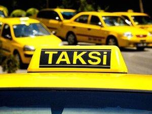 Takside sahte plakayla büyük vurgun