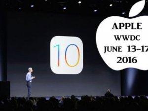 Apple iOS 10 resmen tanıtıldı