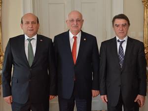 GESAD Başkanı Ziya Gökalp, sektördeki sorunları İsmail Kahraman'la paylaştı