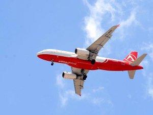 Eğitim uçuşu paniğe neden oldu