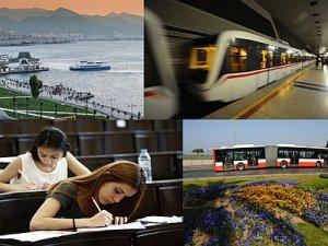 İzmir'de LYS için toplu ulaşıma takviye yapıldı