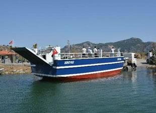 Dalyan Tekne Kooperatifi, Deniz Kızı isimli feribotu suya indirdi