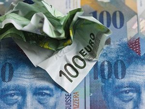 İsviçre Merkez Bankası'ndan franka müdahale