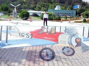 'İlk Türk sivil uçağı'nın 3 boyutlu resmi tamamlandı