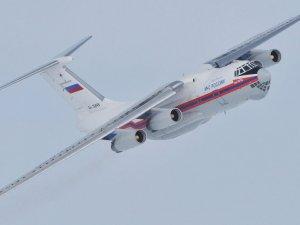 Rus Il-76 kurtarma uçağı ile irtibat kesildi
