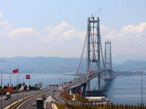 Osmangazi Köprüsü'nde bayram yoğunluğu