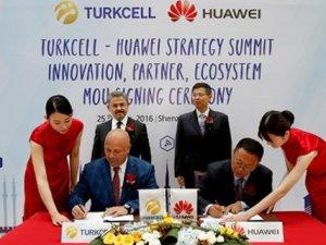 Turkcell ve Huawei'den dev AR-GE işbirliği