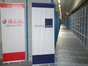 GEFCO Türkiye Yamaha Motor için  depo alanını yeniden yapılandırdı