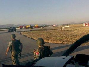 Malatya Erhaç Havalimanı kapatıldı