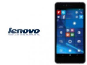 Lenovo bir ilke imza attı: Yeni Windows Phone akıllı telefonunu duyurdu!