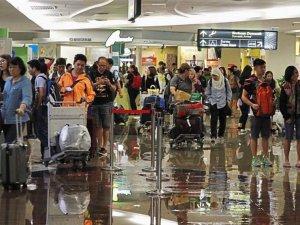 Malezya'nın Penang Havalimanı'nı su bastı