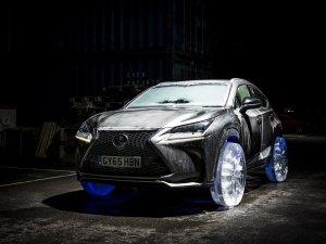Lexus, dünyanın ilk buzdan lastiği ile ödül aldı