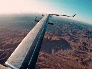 Facebook'un uçağı ilk uçuşunu yaptı