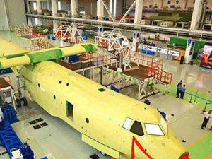 Çin'in dev uçağı hazır