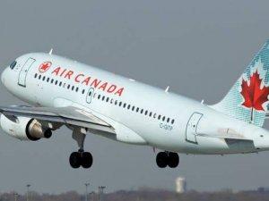 Air Canada'nın İstanbul uçağında arıza